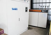 準備工程 窒素発生器kn4-40sp
